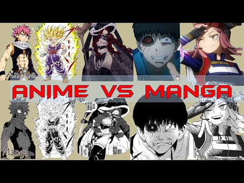 Anime Vs Manga | Which Is Better? Explained (2020)