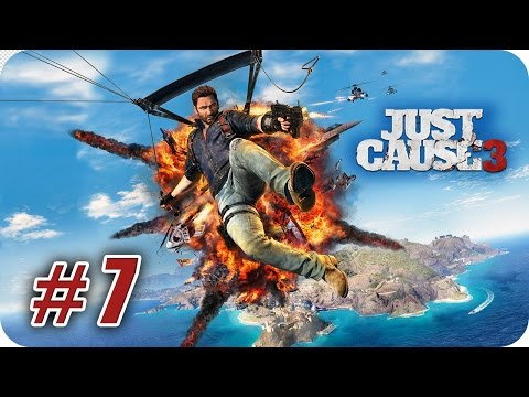 Just Cause 3 - Gameplay Español - Capitulo 7 - Tres son Multitud - 1080pHD
