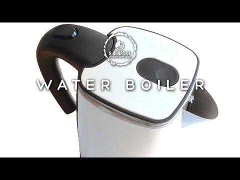 BOILING KETTLE, BOILING WATER, BOILING JUG, KETTLE WHITE NOISE SOUND EFFECT 8 HOURS WASSERKOCHER