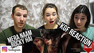 KGF: Mera Naam Rocky Hai | Introduction to Chota Rocky | Yash | Ukrainian Reaction