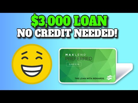 Get Up to $3000 Personal Loan with Bad Credit or NO CREDIT