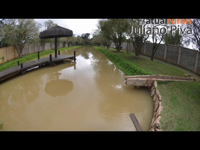Chácara em Itu a venda, bela casa de campo com lago, Atual Rurais - Juliano Piva