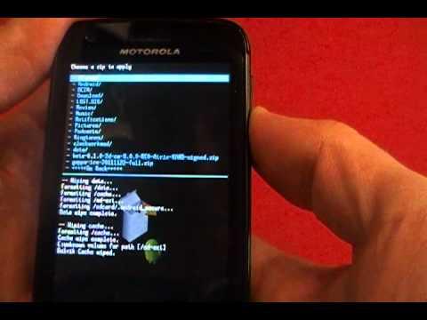 How to Install CM9 on the Motorola Atrix 4G
