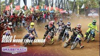 Moto 1 Bebek Modif 110cc Senior - Seri 1 Kejurnas Grasstrack Reg.2 Semarang 2019