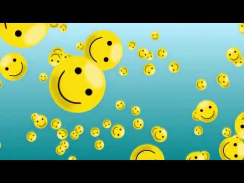 1 Hour Thank God Its Friday Floating Smiley Face Screensaver