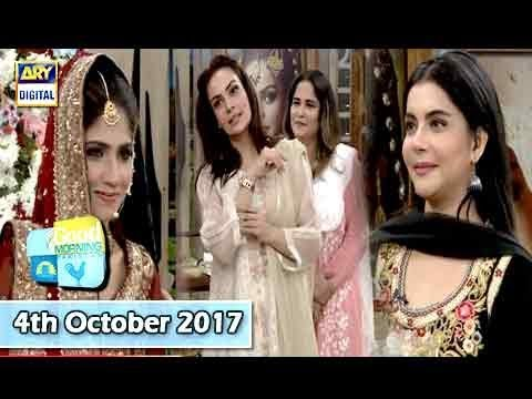 Good Morning Pakistan - 4th October 2017 - ARY Digital Show