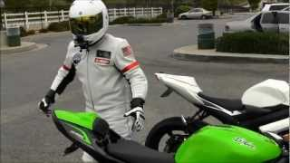 2013 Kawasaki Ninja ZX6R 636 Review By GIXXER Rider Street Ride Slip On M4 Exhaust Sound VLOG