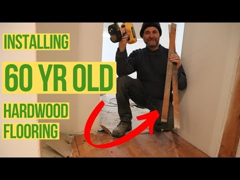 How Reuse and Install OLD Hardwood Flooring