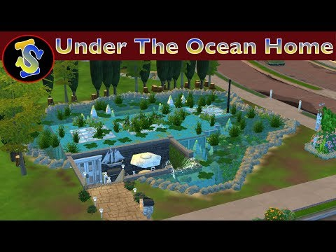The Sims 4 Building Video | Under The Ocean Home