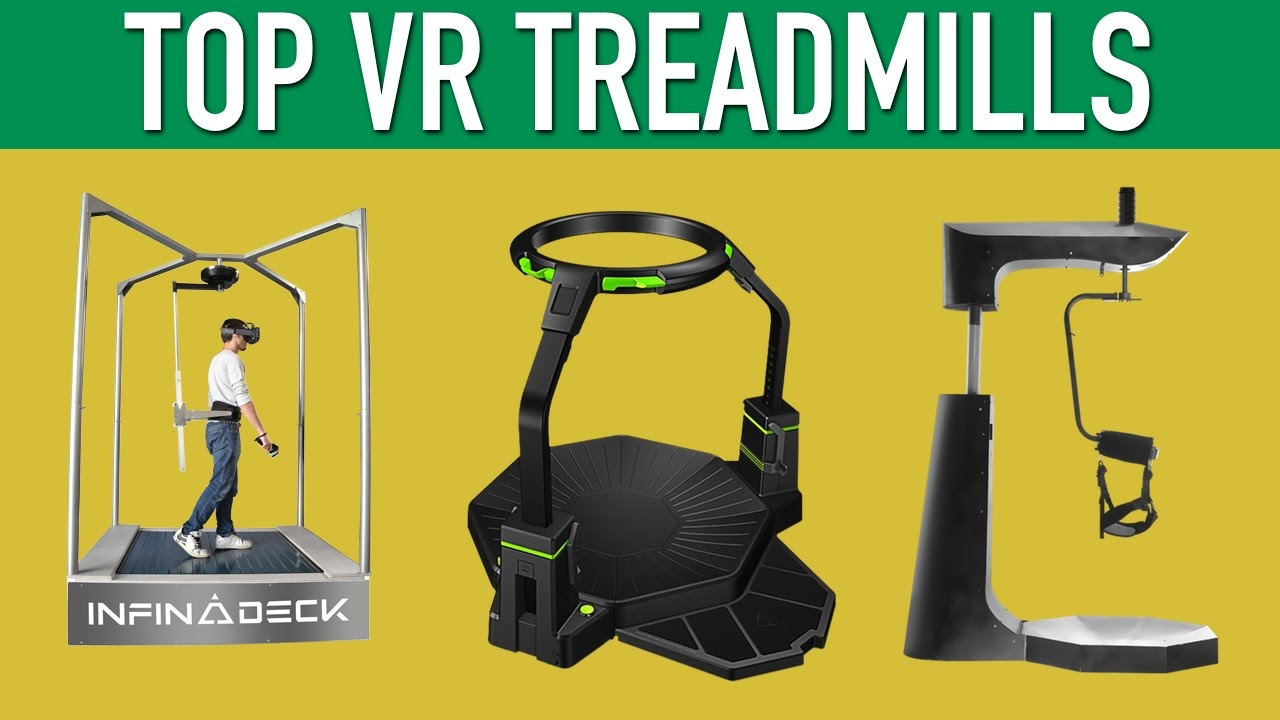 77c09fc91b22 Top VR Treadmills Virtual Reality Locomotion - YouTube