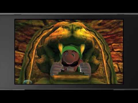 Luigi's Mansion for 3DS - Reveal Trailer (Nintendo Direct)