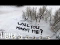 This Ski Resort Proposal Is the Coolest | Brides
