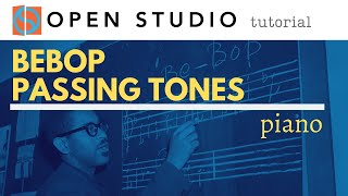 Bebop Passing Tones Peter Martin 2 Minute Jazz