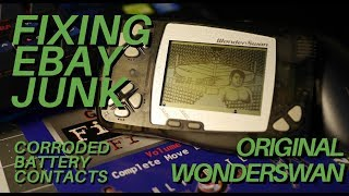 Fixing Ebay Junk - Original WonderSwan