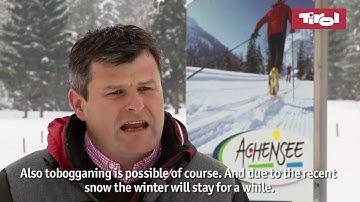 Wetter am Achensee: Schneebericht vom 27.01.2011 - Snow Report Tirol