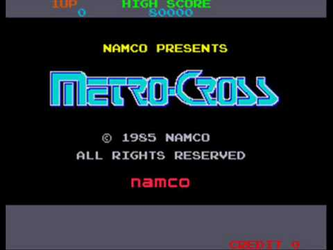 Metro-Cross Arcade In-Game Music