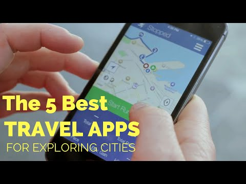 The 5 Best Travel Apps for Exploring Cities