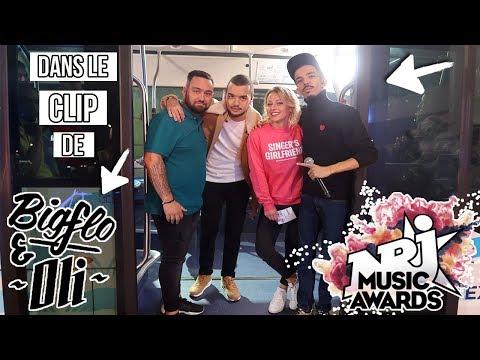 ♡• ON TOURNE DANS LE CLIP DE BIGFLO & OLI POUR LES NMA 2017 •♡