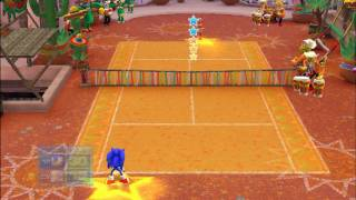 Sega Superstars Tennis (Wii) on Dolphin Wii/GC Emulator 720p HD
