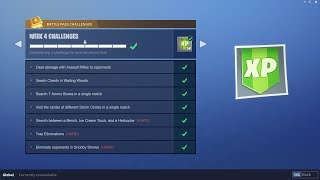 WEEK 4 CHALLENGES LEAKED! | Early Guide! | Fortnite Battle Royale