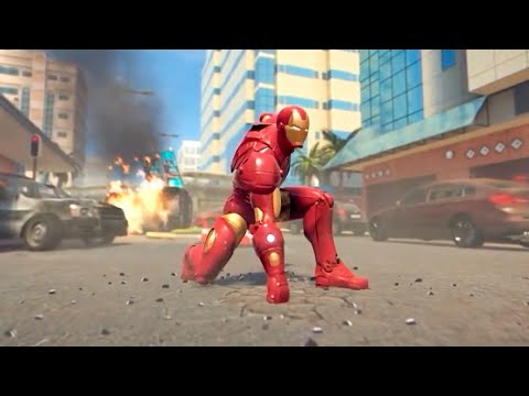 Iron Man vs Ultron Sentrys compilation