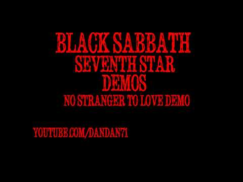 Black Sabbath No Stranger To Love demo