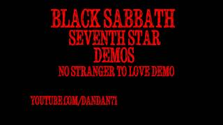 "Black Sabbath ""No Stranger To Love"" demo"
