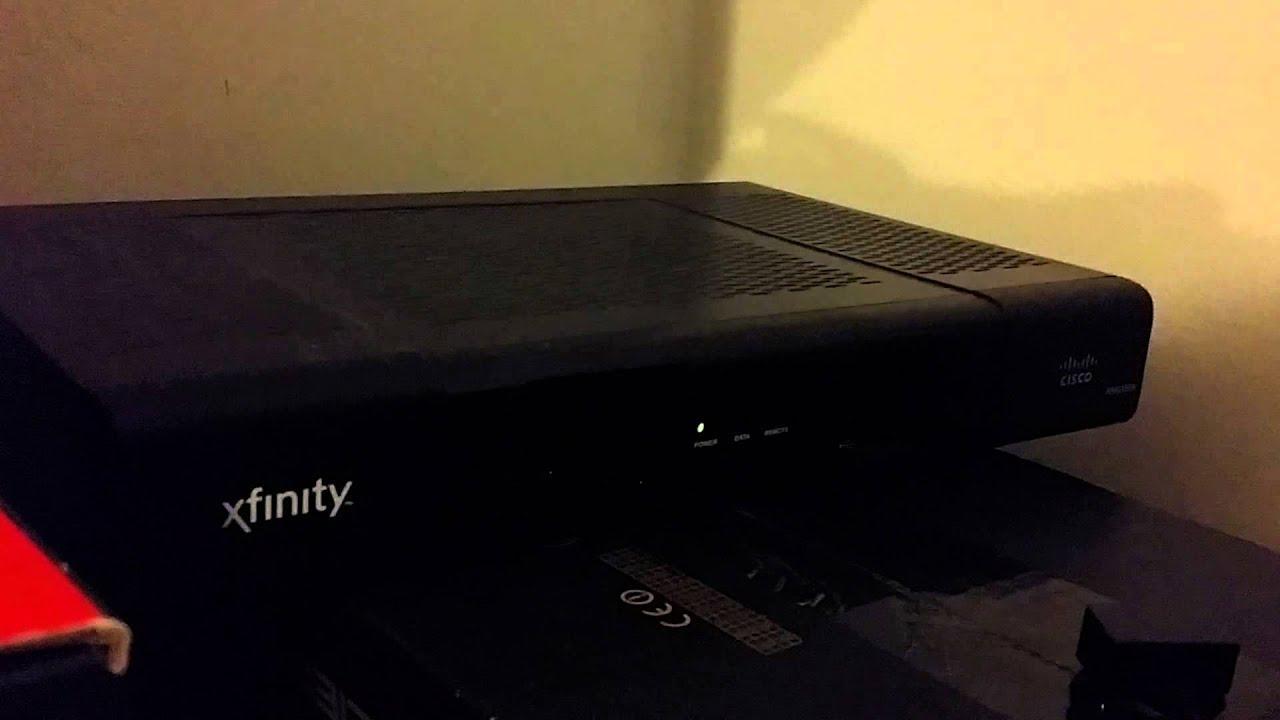 truth xfinity s hd cable box rng150n cisco youtube rh youtube com Xfinity RNG 100 Setup Cisco Cable Box Models