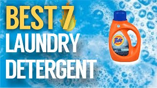 ✅ 7 Best Laundry Detergent 2019 (Buying Guide)