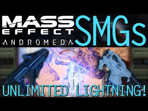 BEST SMG TEST & SHOWCASE WITH AUGMENTS IN MASS EFFECT ANDROMEDA