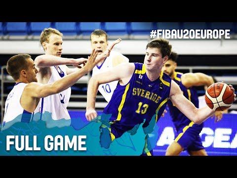 Czech Republic v Sweden - Full Game - FIBA U20 European Championship 2017