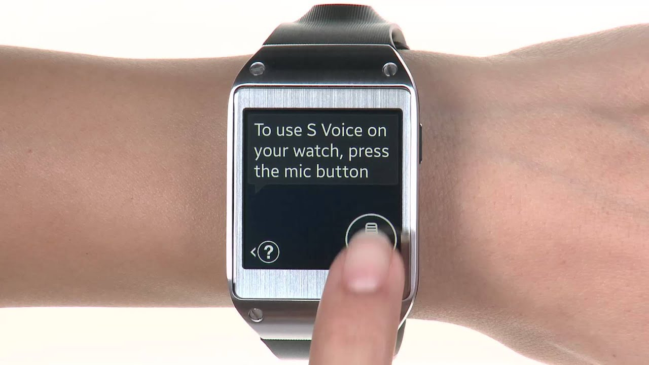 Voice Commands And Hands Free Calling Samsung Galaxy Gear Sm V700