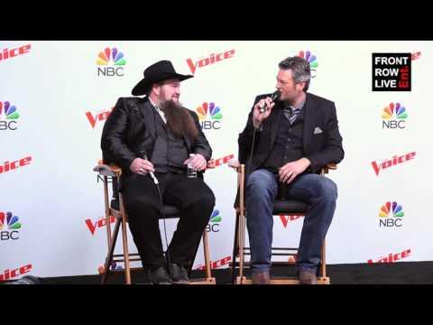 Sundance Head & Blake Shelton Press Conference The Voice Season 11 Finale