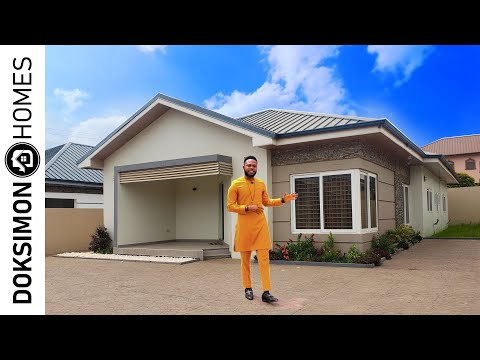 Inside an Affordable 3 Bedroom House Estate in East Legon Hills, Accra • House Tour 20