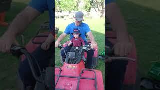 Beaner loves the quad