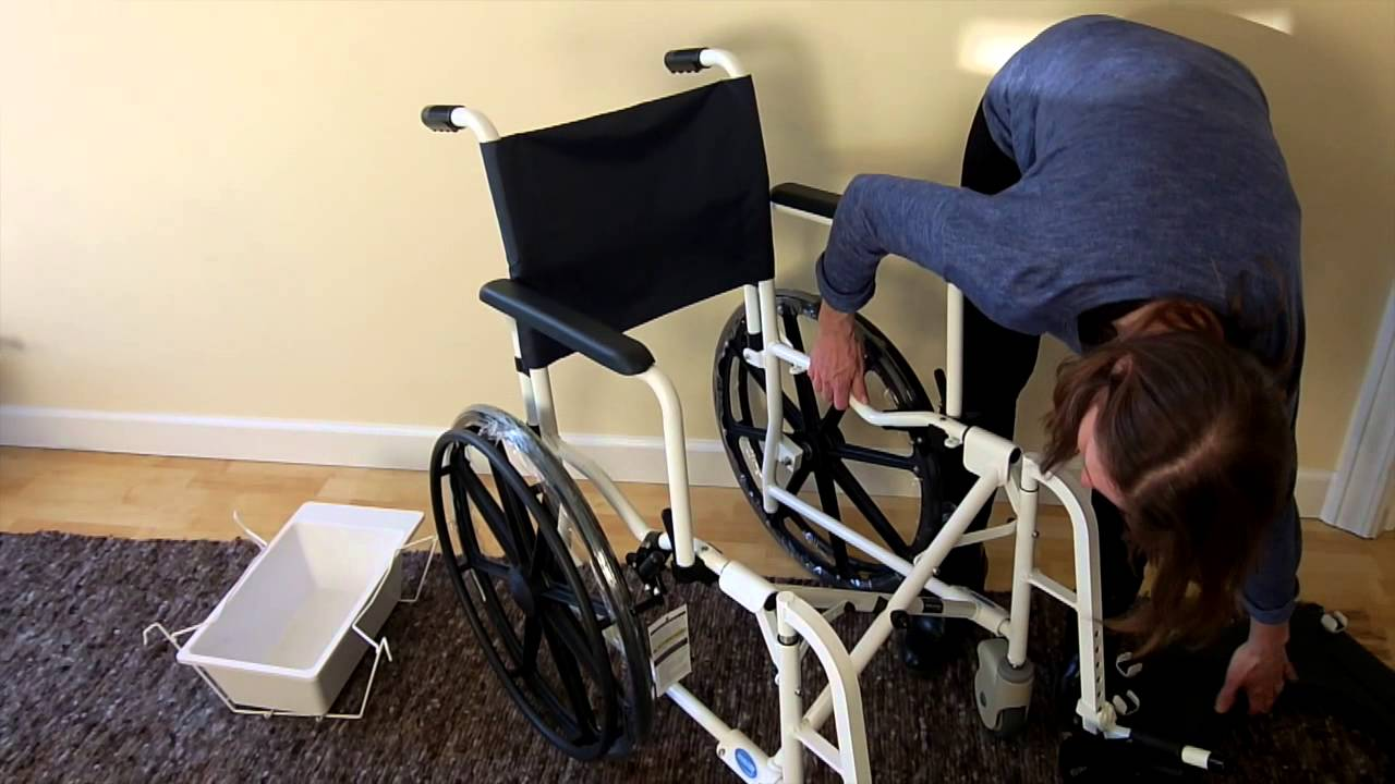 invacare shower chair minimalist office mariner commode youtube