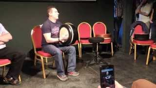John Joe Kelly (solo), Teacher's recital - Craiceann 2015 video notes