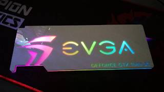 DIY RGB GPU backplate