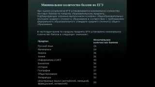 видео Перевод баллов ЕГЭ по информатике