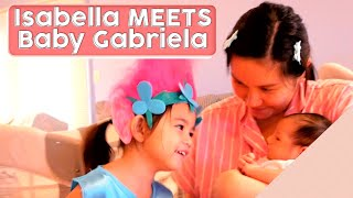 ISABELLA Meets GABRIELA For the First Time! [Giving Birth]