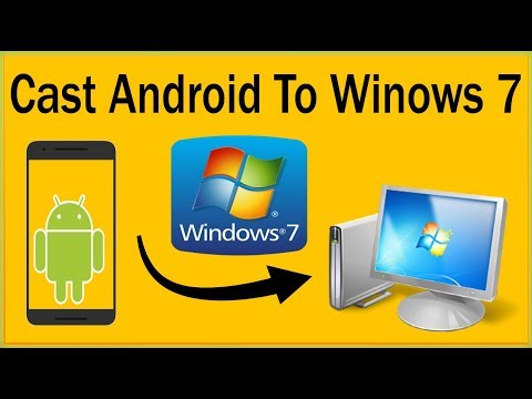 How To Mirror Android To PC Windows 7 Without Rooting - How To Use  Airserver Universal On Windows 7