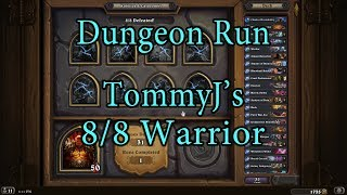 Hearthstone: Kobolds and Catacombs Warrior 8/8 Dungeon Run