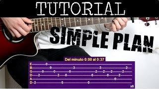 Cómo tocar Your love is a lie de Simple Plan (Tutorial de Guitarra) / How to play