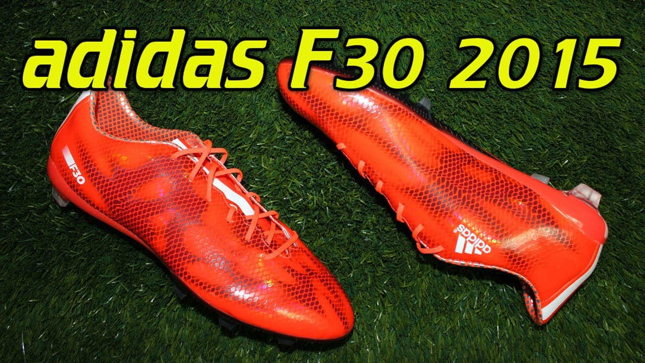 adidas f30 rojas