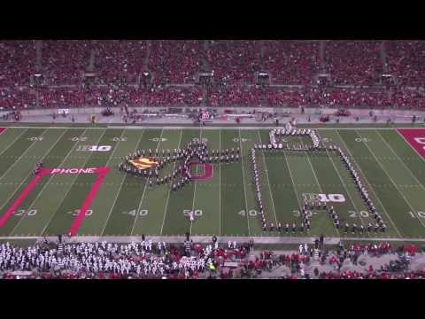 Ohio State Marching Band - Hollywood Blockbuster [HD]