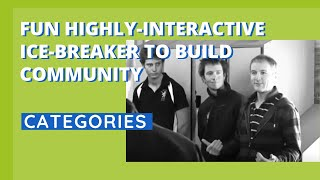 Fun Highly-Interactive Ice-Breaker To Build Community - Categories thumbnail