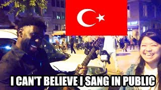 Asking Random People to Sing in Istanbul, Turkey