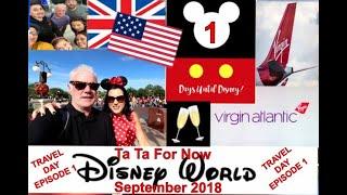 Travel Day / Disney World / September 2018 / Episode 1