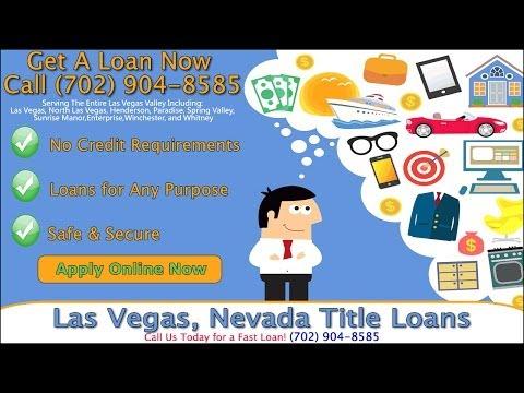 Las Vegas Title Loans In Minutes - (702) 904-8585