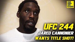 UFC 244: Jared Cannonier Calls For Next Title Shot vs. Israel Adesanya, Addresses Weight Miss!